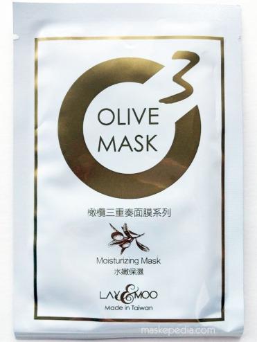 Lay & Moo Moisturizing Olive Mask