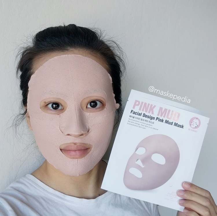 So Natural Pink Mud Mask
