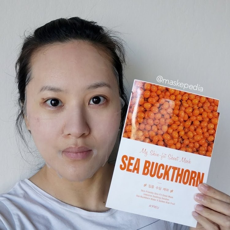 A'pieu My Skin Fit Sheet Mask - Sea Buckthorn