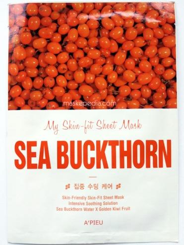 A'pieu My Skin Fit Sheet Mask - Sea Buckthorn