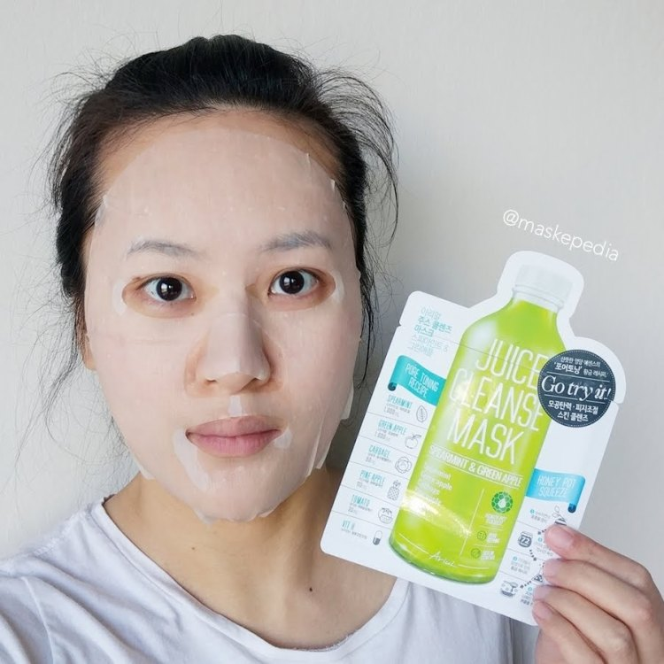 Ariul Spearmint & Green Apple Juice Cleanse Mask