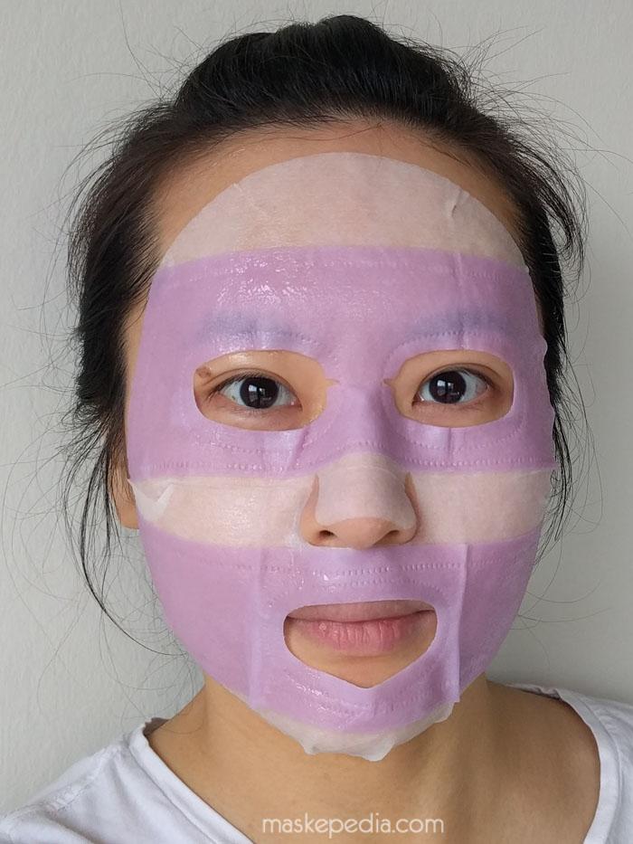 Medius Super Moist Ninja Mask - Brigntening Pink