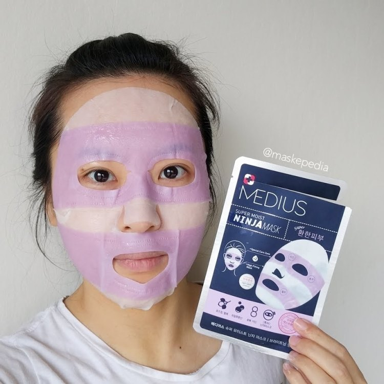 Medius Super Moist Ninja Mask - Brightening Pink