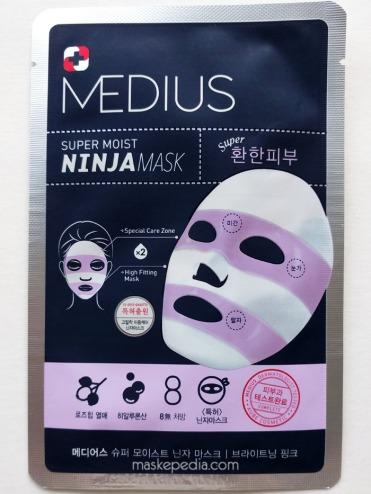 Medius Super Moist Ninja Mask - Brightening Pink