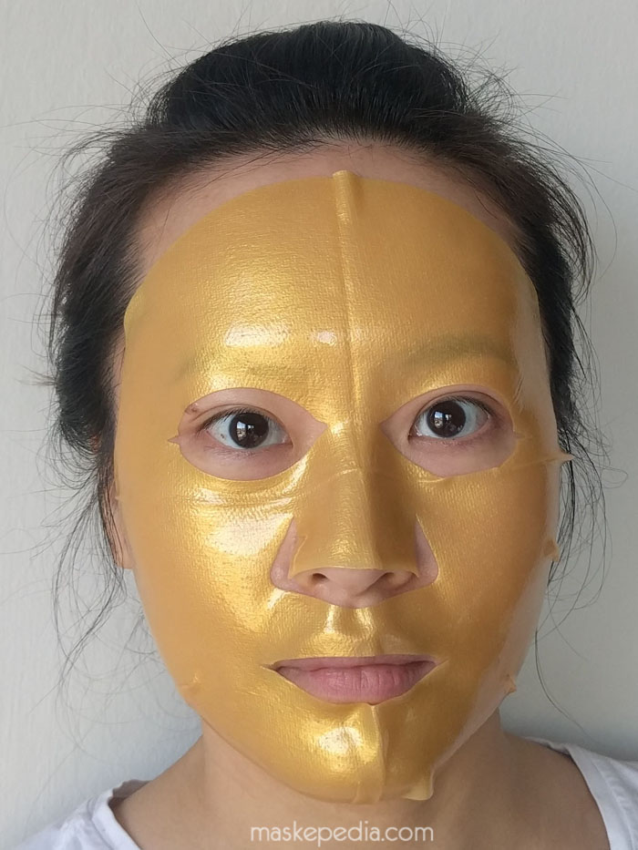 sexylook_goldhydrogel_during