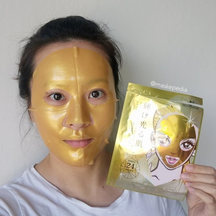 Sexylook 24K Gold Hydrogel Mask
