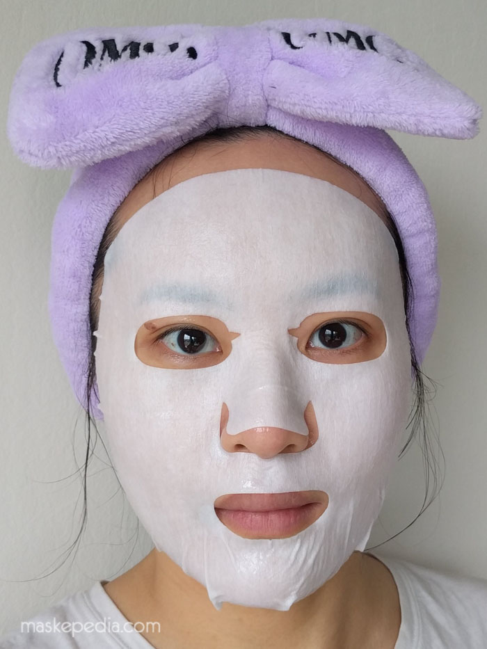 Double Dare 2-in-1 Kit Detox Bubbling Microfiber Mask