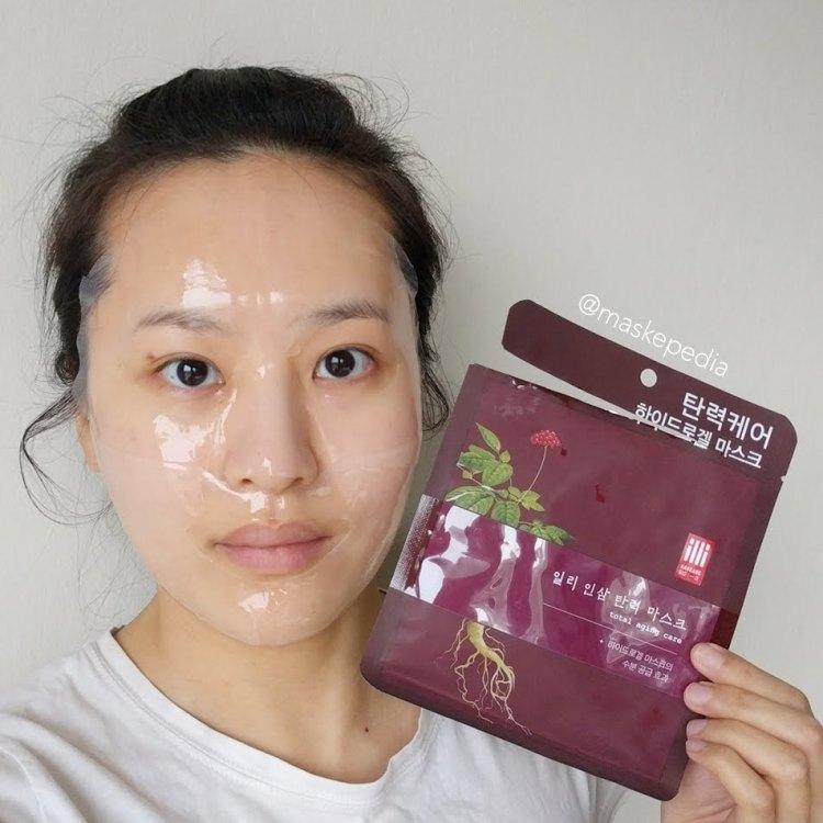 Illi Hanbang Total Aging Care Ginseng Firming Bio Mask