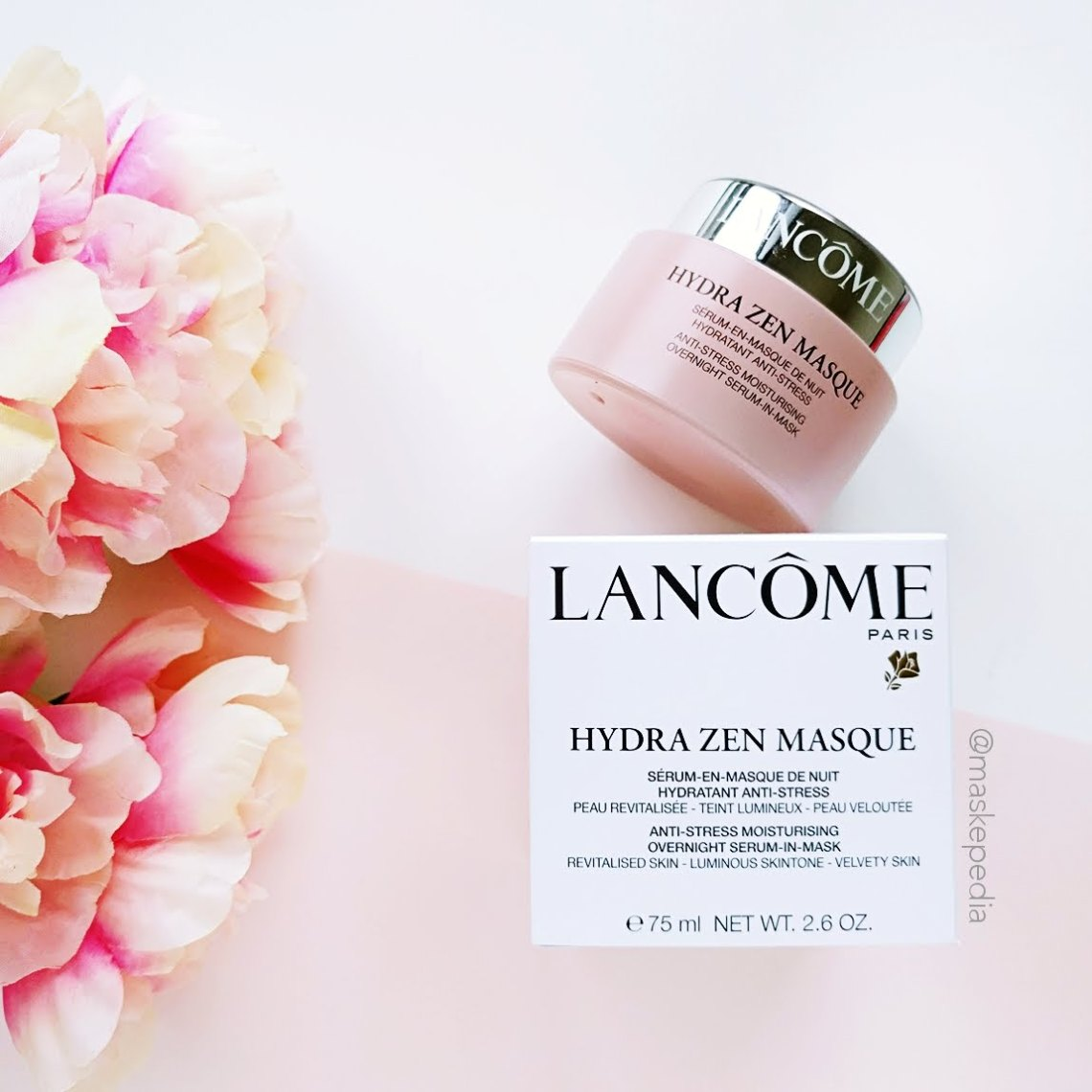 Lancôme Hydra Zen Anti-Stress Moisturizing Overnight Serum-in-Masque