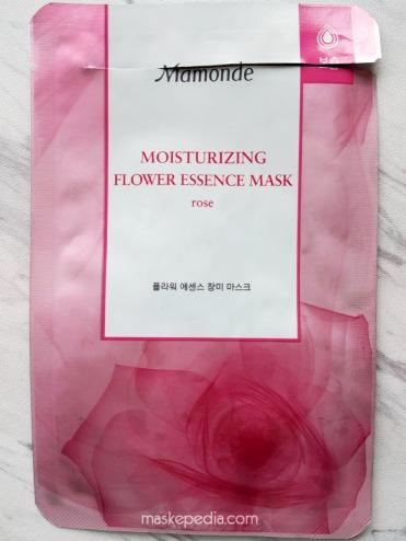 Mamonde Moisturizing Flower Essence Rose Mask