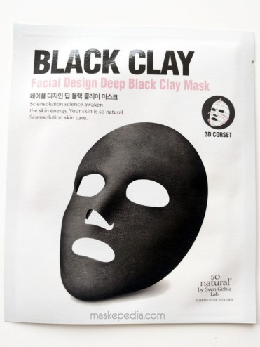 So Natural Black Clay Mask