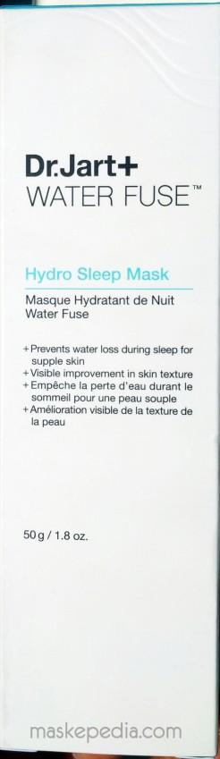 Dr Jart+ Water Fuse Hydro Sleep Mask