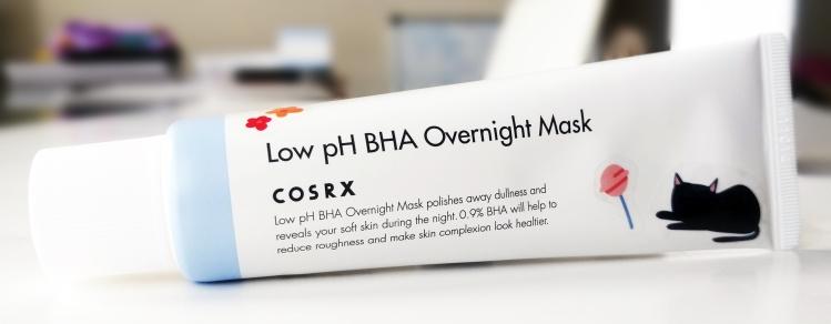 CosRX Low pH BHA Overnight Mask
