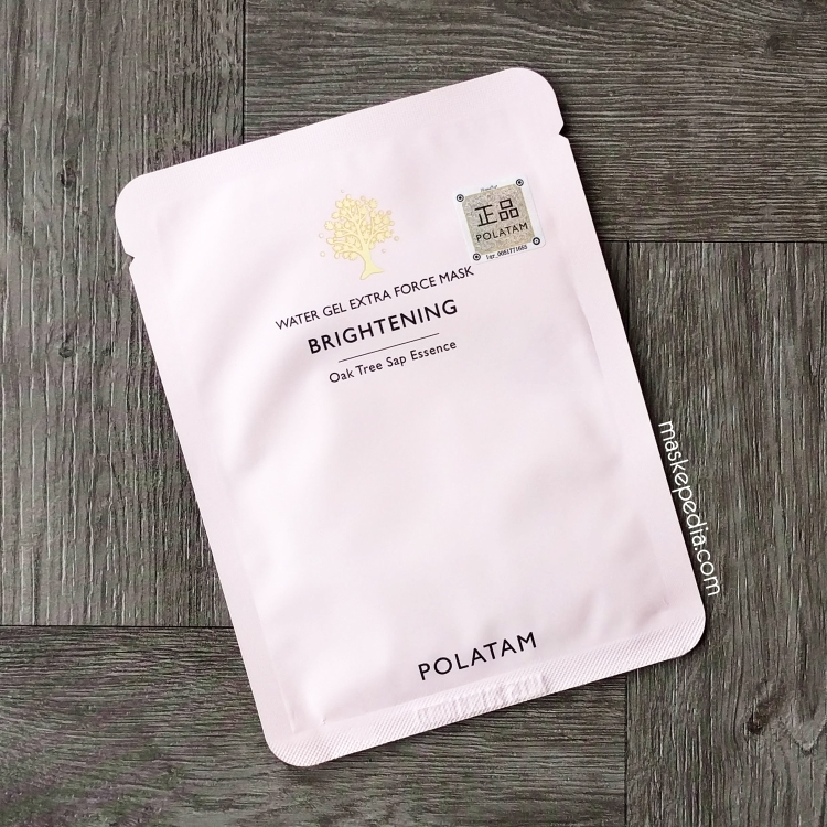 Polatam Water Gel Extra Force Brightening Sheet Mask