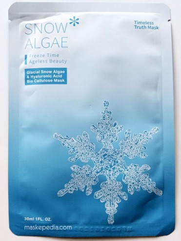 Timeless Truth Snow Algae & Hyaluronic Acid Bio-Cellulose Mask