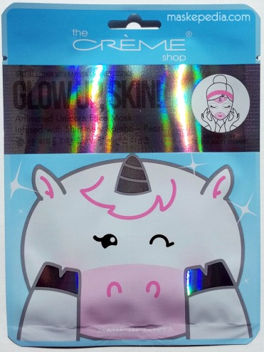 The Creme Shop Glow up, Skin! Unicorn Face Mask