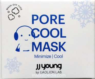 JJ Young by Caolion Lab Pore Cool Mask