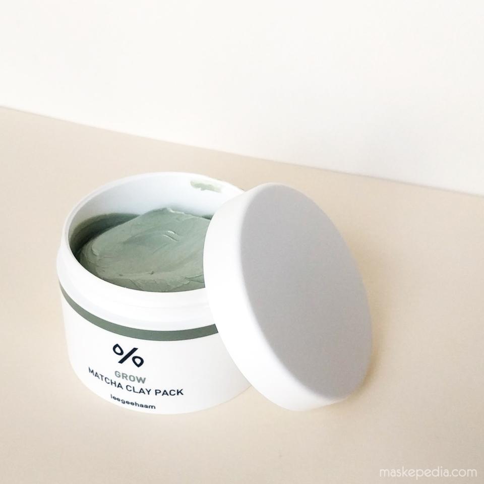 Leegeehaam Grow Matcha Clay Pack Mask